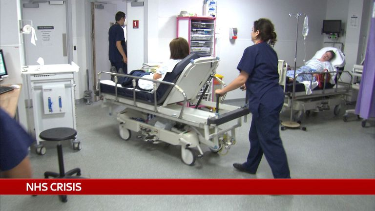 NHS hospitals are being pushed too far, it is being claimed