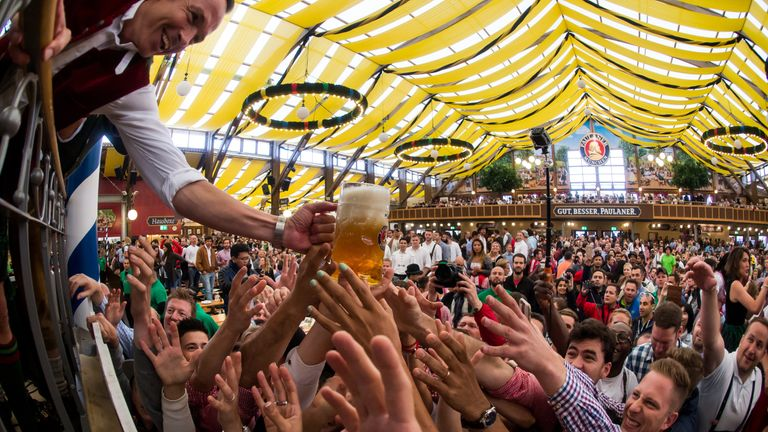 183rd Oktoberfest in Munich, Germany