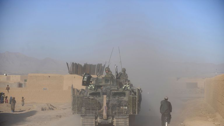 Uruzgan has been one of the main points of conflict with the Taliban