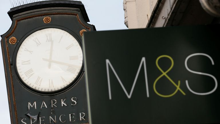 Marks and Spencer in London