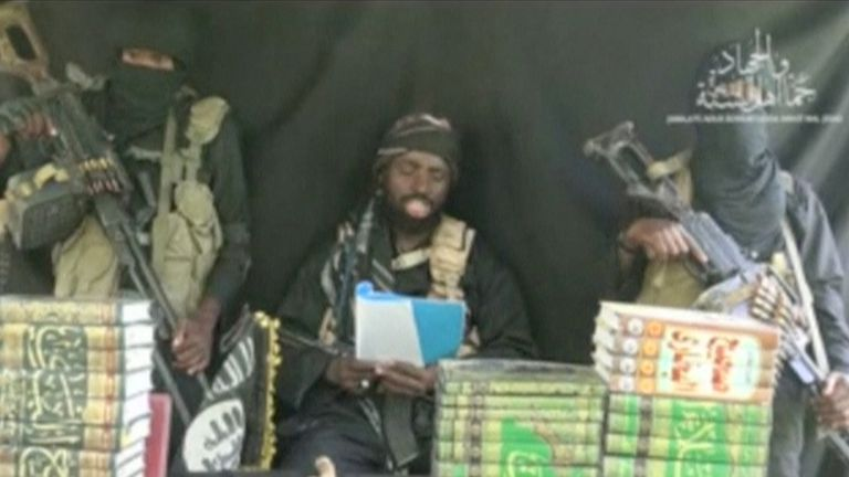 Abubakar Shekau taunted parents of the kidnapped Chibok schoolgirls