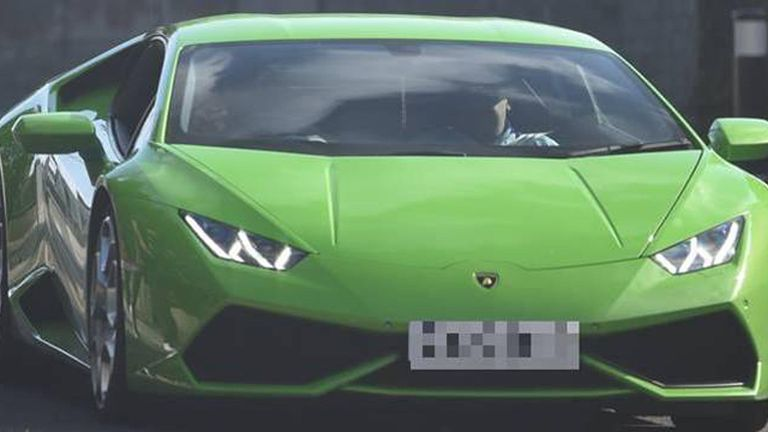 "Undated Metropolitan Police handout photo of a Lamborghini that was leased by a gang who have been jailed for carrying out a ""clever, persistent and pitiless"" multimillion-pound bank fraud and money laundering scam. PRESS ASSOCIATION Photo. Issue date: Wednesday September 21, 2016."