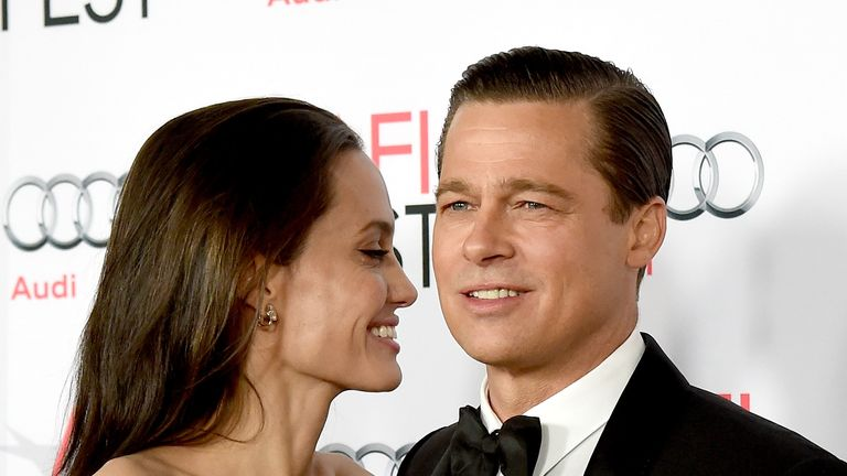 Jolie and Pitt at the AFI Fest 2015 in Los Angeles