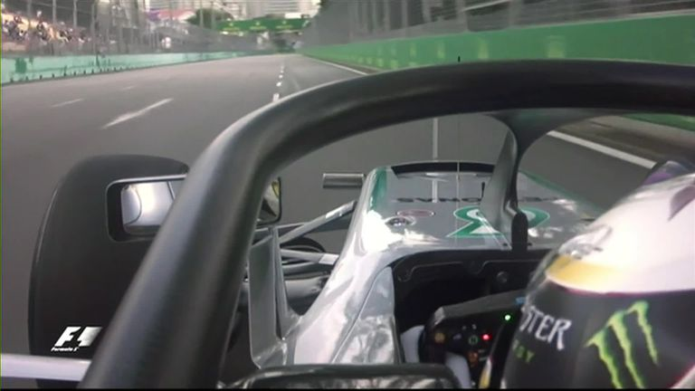 Driver S Eye View Of The Halo Video Watch Tv Show Sky Sports
