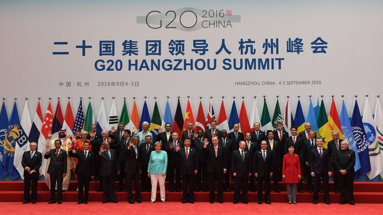 World Leaders Gather For The G20 Summit