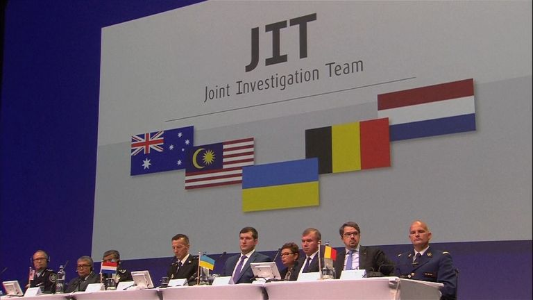 MH17 joint investigation team