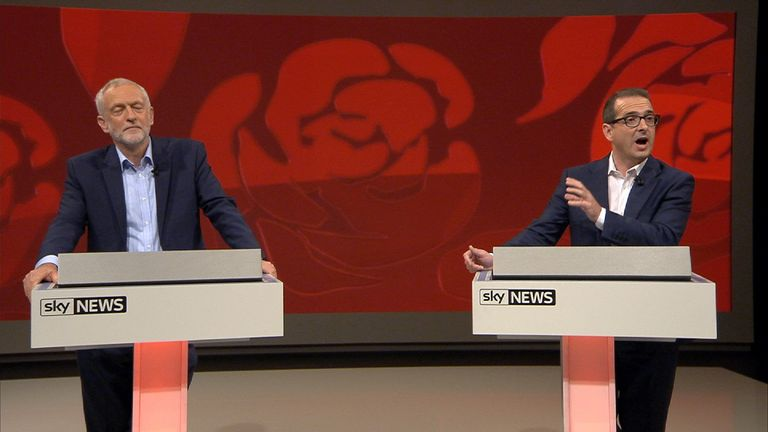 Corbyn and Smith respond to suggestions that Blairites are treating the left of the party badly