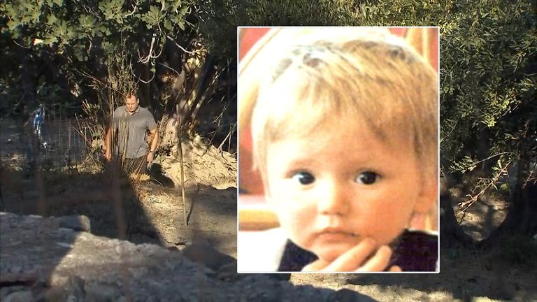 Officers have been examining a tree that was not present when Ben Needham went missing 25 years ago