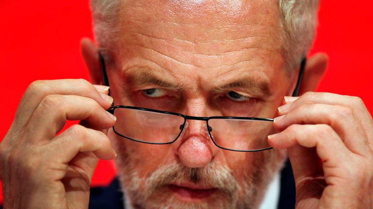 Some 45% felt it unlikely Labour would ever win again if Mr Corbyn was re-elected