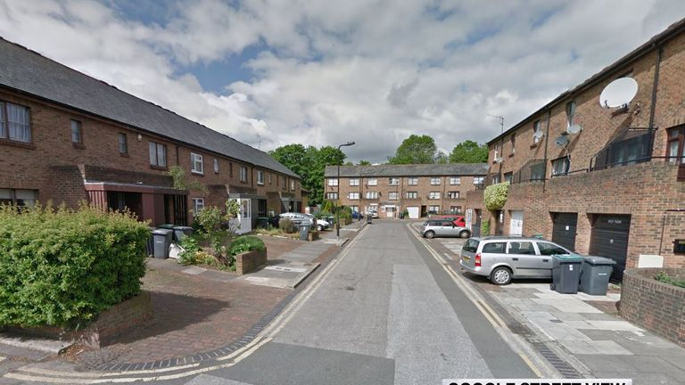 Sherboro Road, Tottenham, where a 100-year-old lady was mugged outside her own home