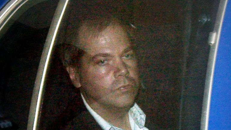 John Hinckley, pictured here in 2003, will live with his elderly mother in Virginia