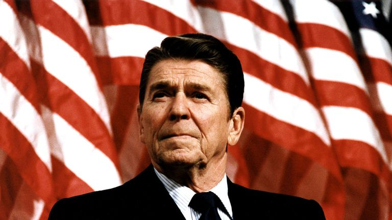 President Reagan suffered a punctured lung in the shooting but recovered quickly