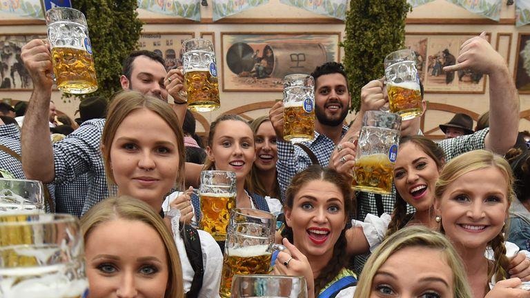 183rd Oktoberfest in Munich, Germany