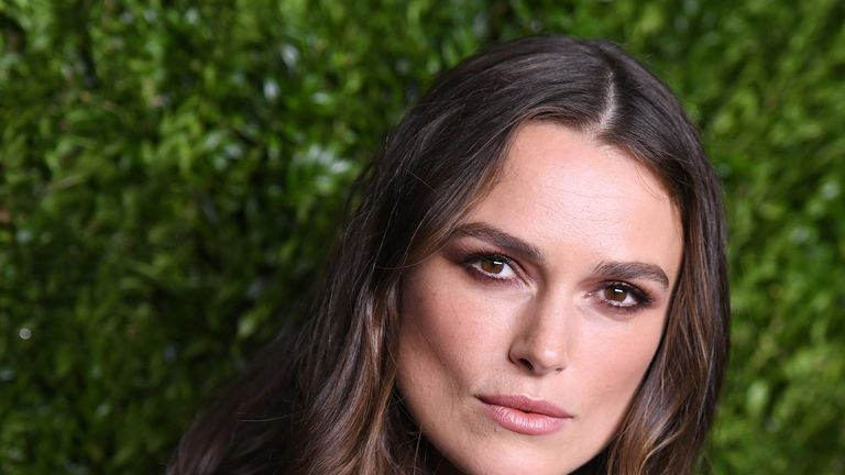 Keira Knightley attends a Chanel event in New York that was held to honour the Pirates Of The Caribbean actress