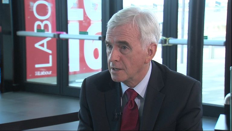 John McDonnell MP rules out major policy review