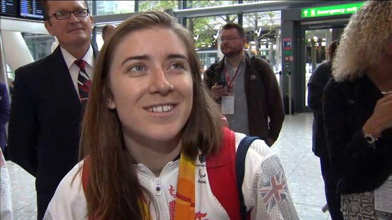 Paralympics GB Sprinter Libby Clegg