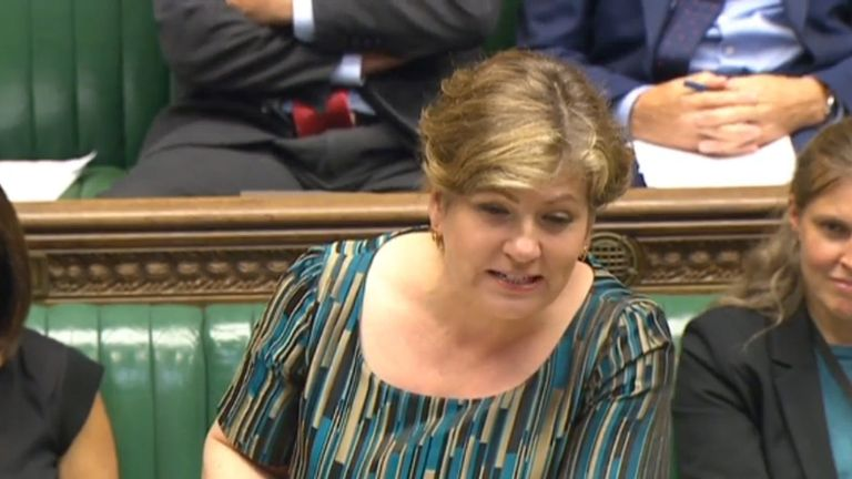 Shadow Brexit Secretary Emily Thornberry said the Government still hasn't really said how it intends to leave the EU