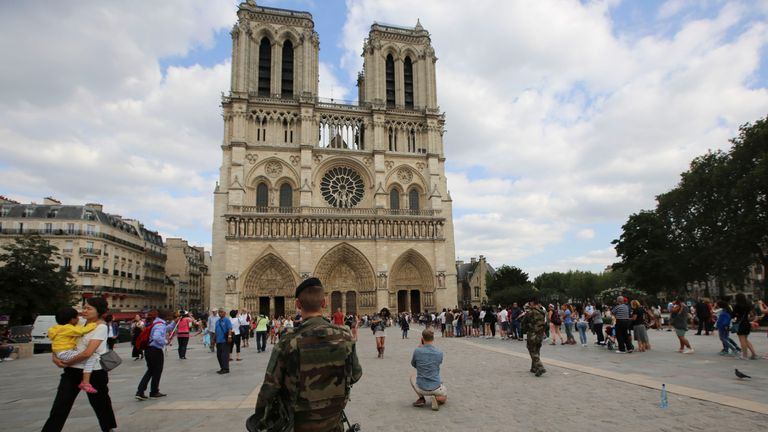 Notre Dame attracts 13 million visitors each year