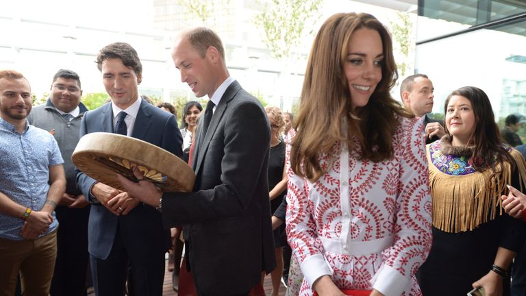 William and Kate in Vancouver