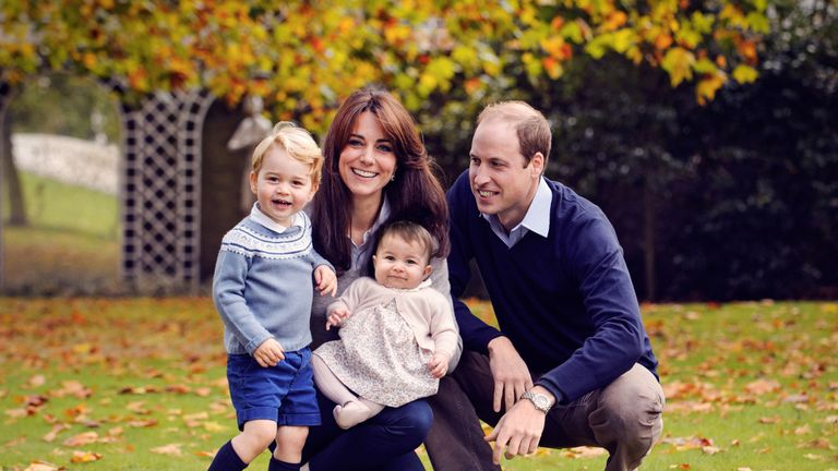 William, Kate, George and Charlotte