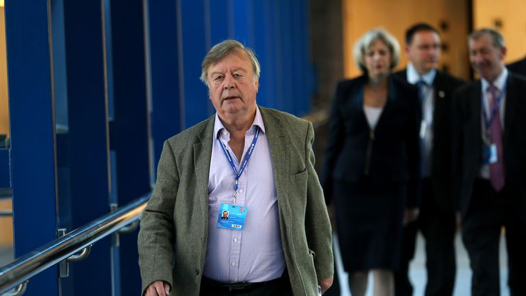 Mr Clarke has revealed he would vote against Brexit in the Commons, if given the opportunity