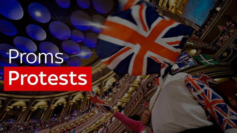 There are fears of protests at the Proms this year