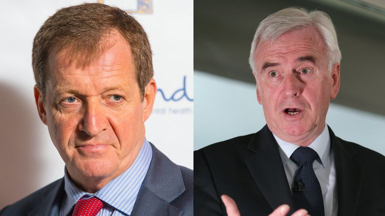 Alastair Campbell and John McDonnell