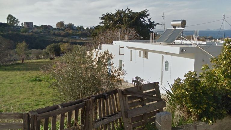 The property from where Ben Needham went missing in 1991. Pic: Google