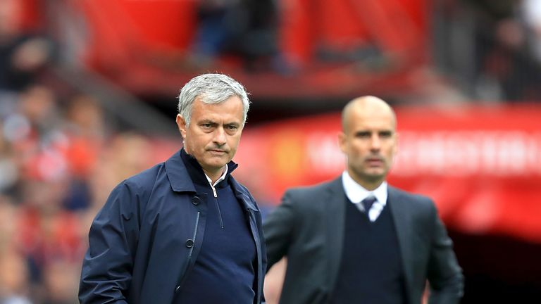 Image result for mourinho manchester united pep