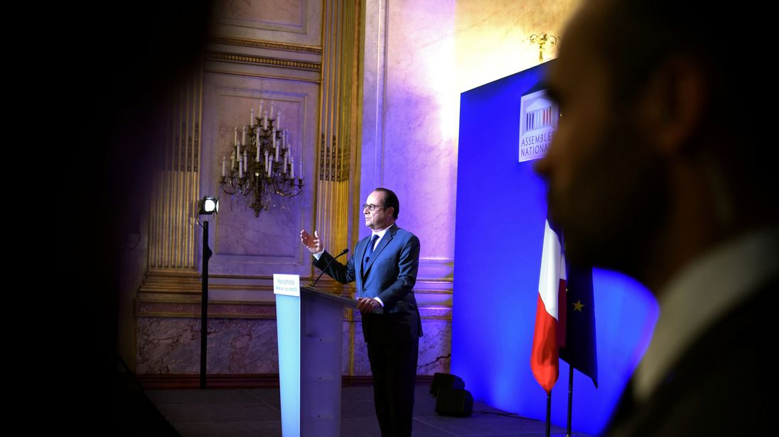 Presidnet Hollande has warned against Brexit undermining the EU's principles