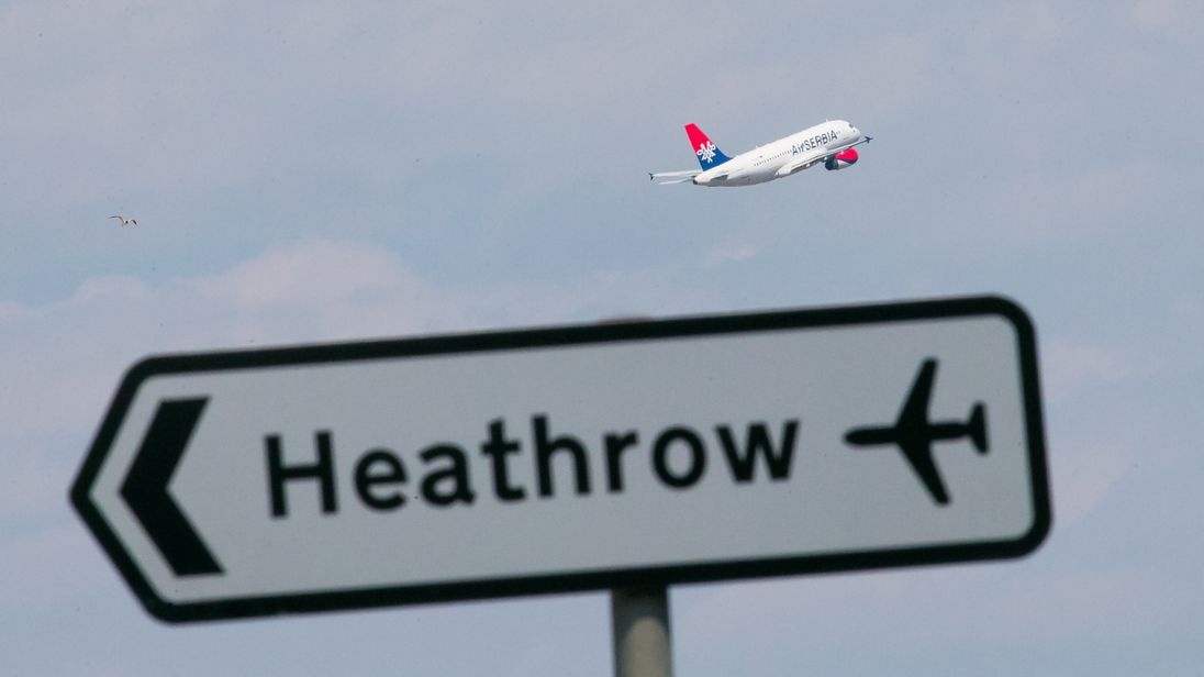 A third runway has been approved for Heathrow Airport
