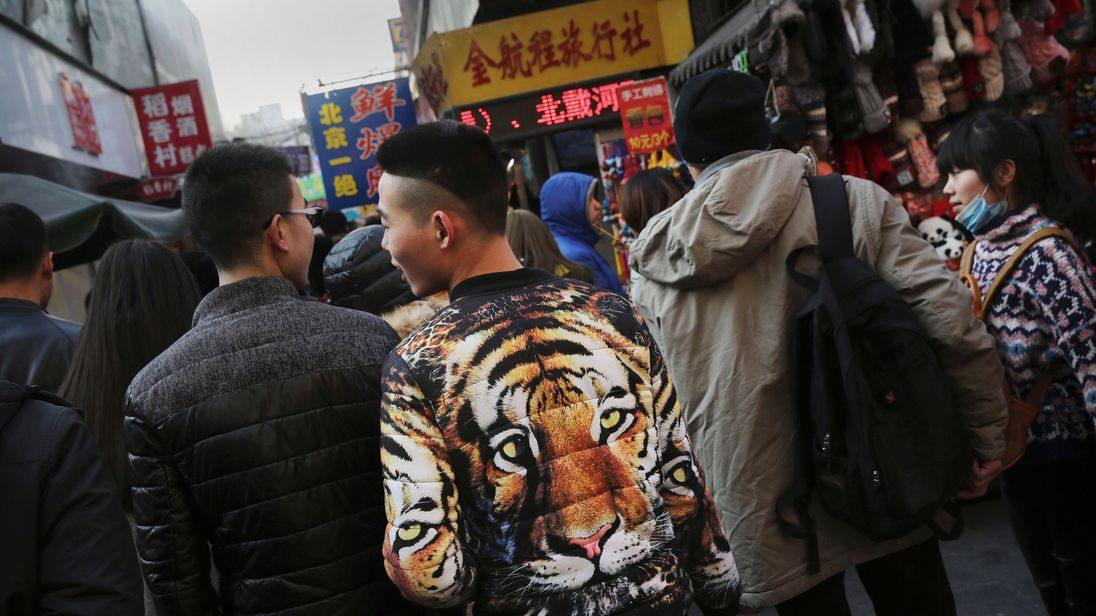 Retail sales are recording double-digit growth in China
