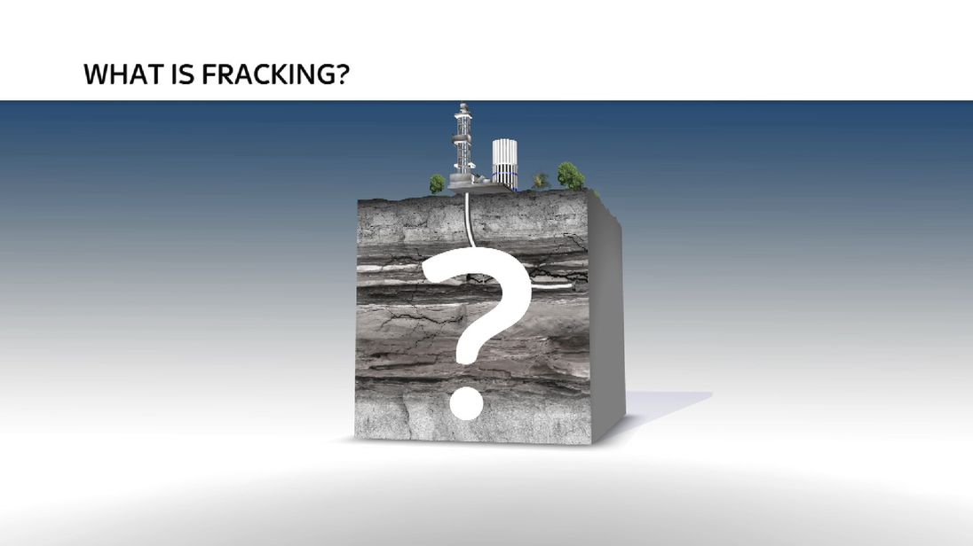 An explanation of the fracking process