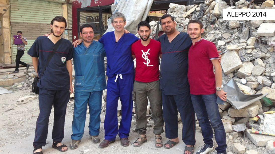 David Nott is a British surgeon working in Syria