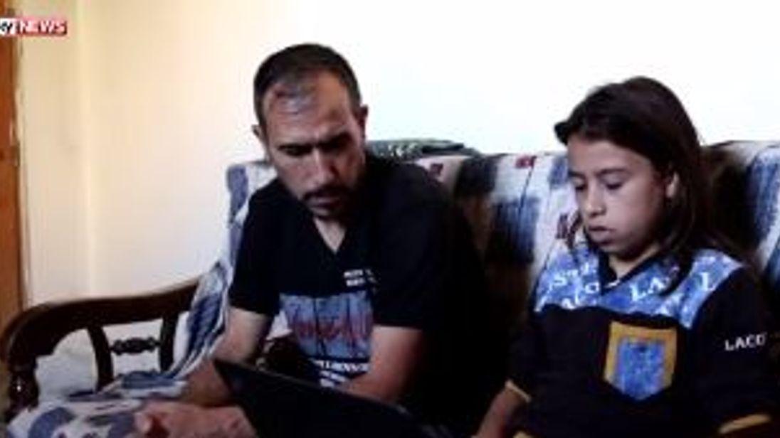A 13-year-old boy turns cameraman in Aleppo