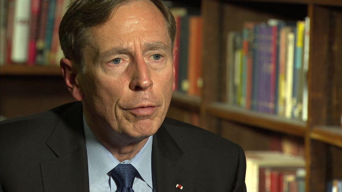 David Petraeus discusses the future of Syria