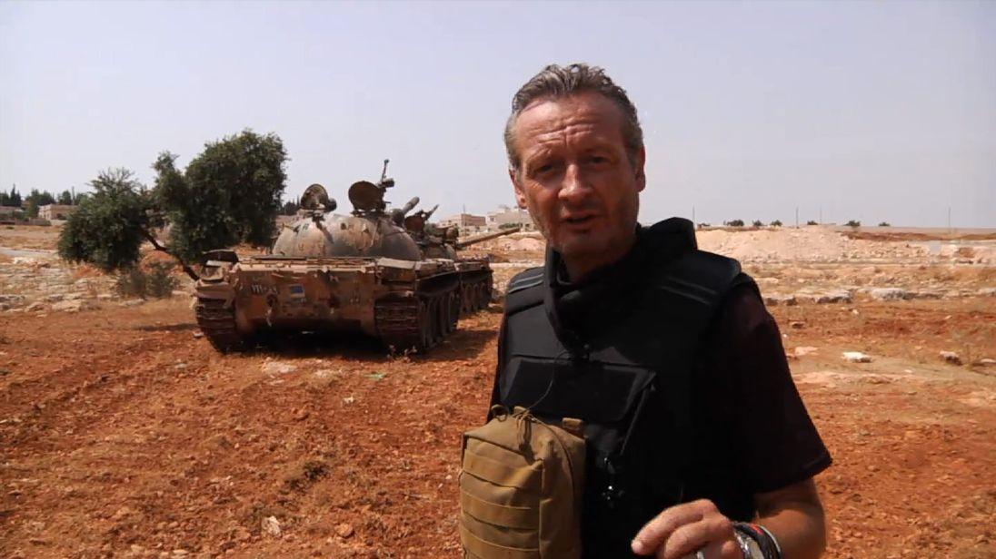 Sky's Stuart Ramsay in Aleppo in 2012