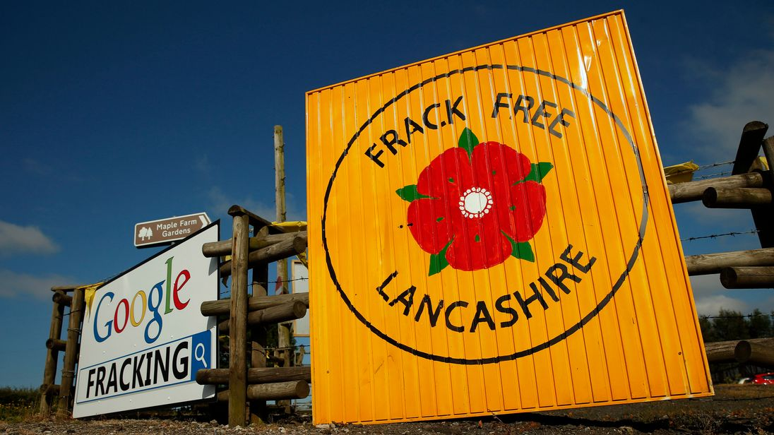 The Cuadrilla applications have sparked protests in Lancashire