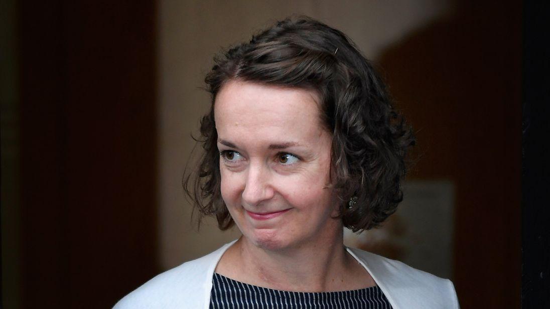 Pauline Cafferkey was taken to hospital with a police escort