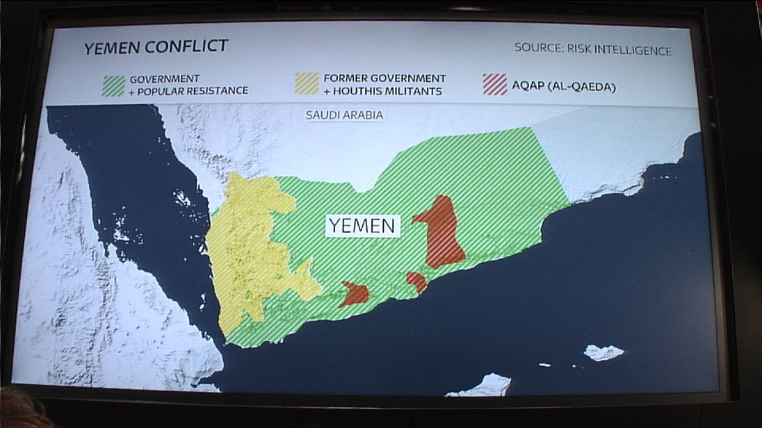 Alistair Bunkall explains the Yemen conflict on SNT