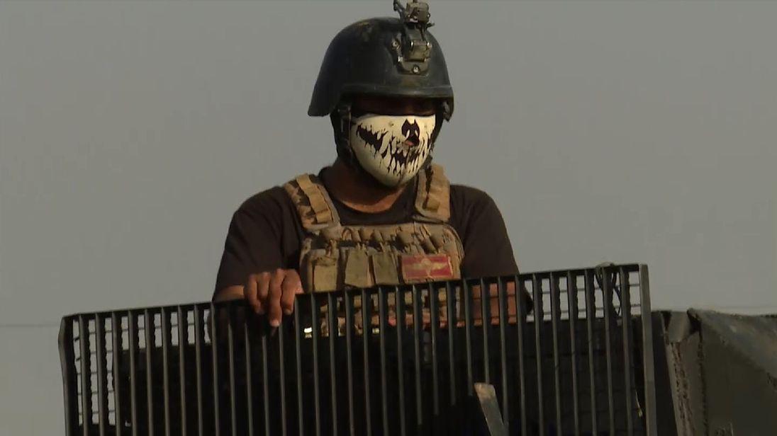 GOLDEN DIVISION  IRAQ