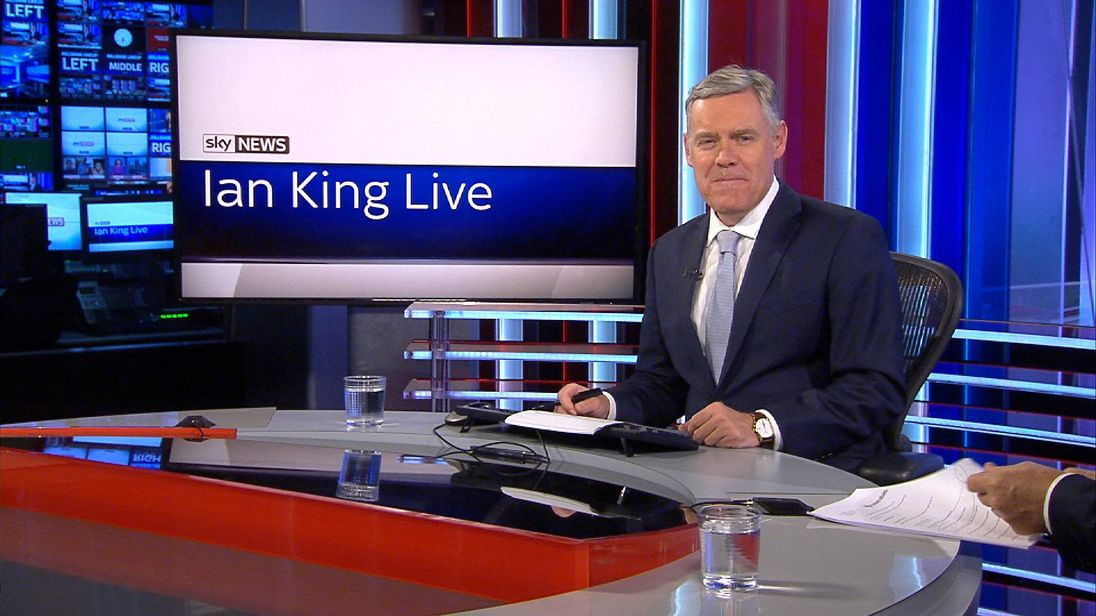 Ian King presents Ian King Live