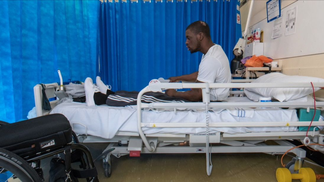 Paralysed patients are being left to languish on inappropriate hospital wards for up to nine months because of a lack of beds in specialist units.