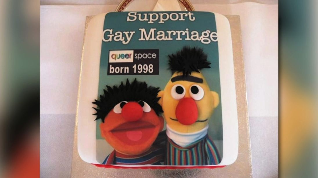 'Gay cake': It was about the message, not a man