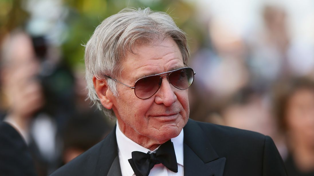 Harrison Ford plays the hero in real-life auto accident
