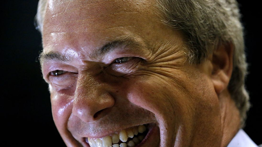 UKIP wants a peerage for Nigel Farage