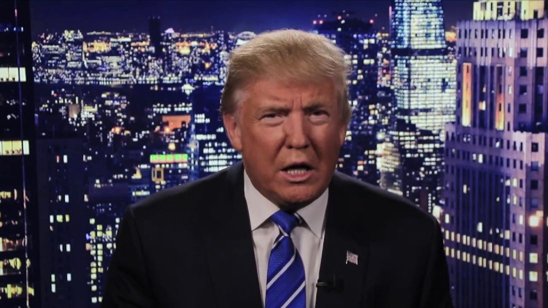 Trump's TV apology over lewd remarks