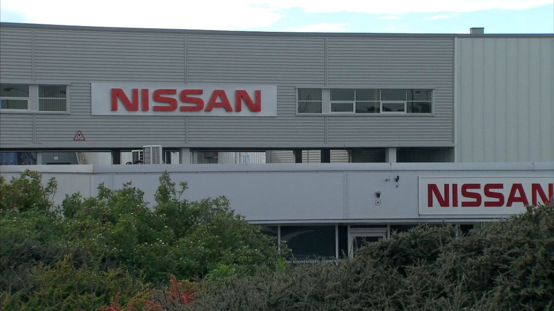 Nissan's Sunderland plant was opened in 1986