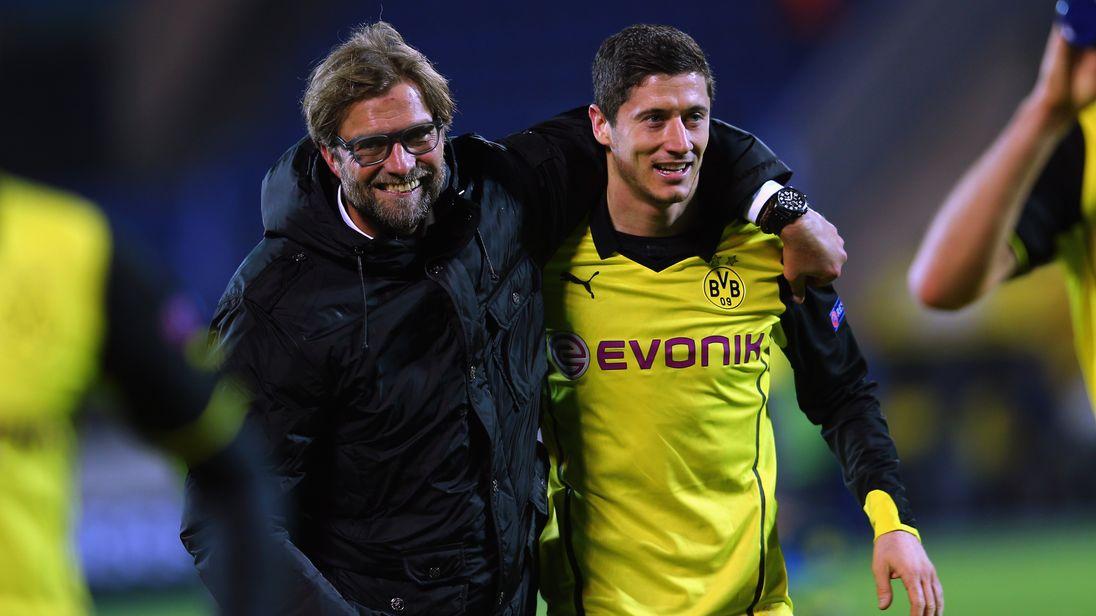 Image result for Borussia Dortmund klopp champions