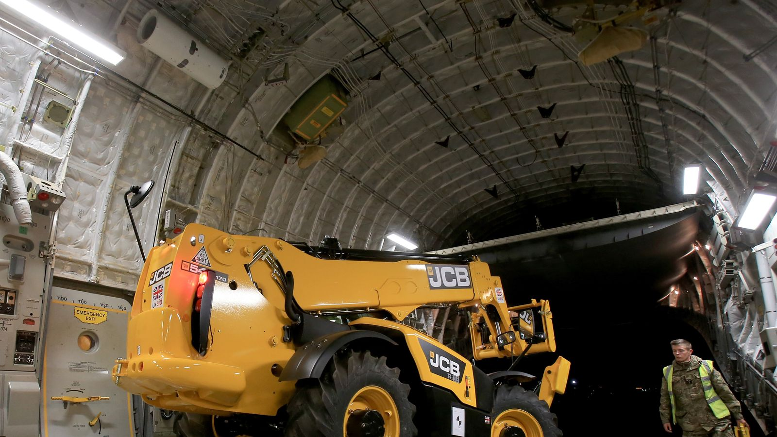 JCB cuts working hours for 4,000 UK employees as coronavirus hits suppliers